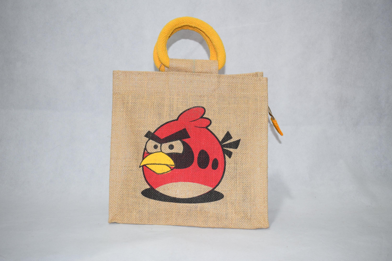 kids lunch bag saran jute bags. Black Bedroom Furniture Sets. Home Design Ideas